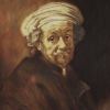 Rembrandt as St Paul
